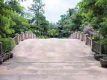 Schöner Garten Grüner Rasen in landschaftlich gestaltetem formalem Garten Park AR Lizenzfreie Stockfotografie