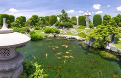 Schöner Garten im Umwelttourismus ist in der Harmonie entworfen Lizenzfreie Stockfotografie