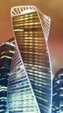 Schöner Gebäudewolkenkratzer Stockfotos