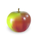 Schöner großer Apfel Stockbilder