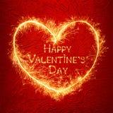 Schöner Grußkarte glücklicher Valentinsgruß ` s Tag Lizenzfreie Stockfotos