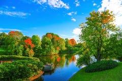 Schöner Herbst Stockfotografie