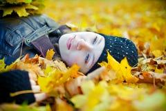 Schöner Herbst Stockfoto