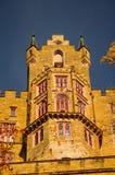 Schöner Herbst in Hohenzollern-Schloss und herum, Deutschland Lizenzfreie Stockbilder