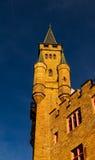 Schöner Herbst in Hohenzollern-Schloss und herum, Deutschland Lizenzfreie Stockfotos