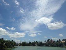 Schöner Himmel Stockfoto