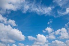 Schöner Himmel Stockbilder
