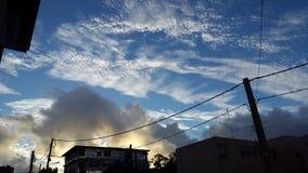 Schöner Himmel Stockfotografie