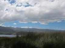 Schöner Himmel in Perú Stockbild