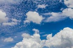 Schöner Himmel und nette Wolken Lizenzfreie Stockfotografie