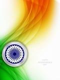 Schöner Hintergrund für indischen Unabhängigkeitstag. Stockfoto