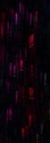 Schöner Hintergrund mit unterschiedlichem farbigem Ausrufezeichen, AB Lizenzfreies Stockbild