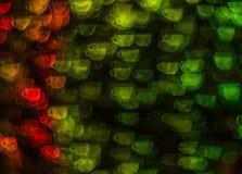 Schöner Hintergrund mit unterschiedlichem farbigem Tasse Kaffee, Abstr. Stockfoto