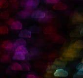 Schöner Hintergrund mit unterschiedlicher farbiger Wolke, abstraktes BAC Stockfotos