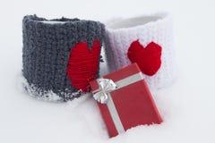 Schöner Hintergrund am Valentinsgruß-Tag Stockfotografie