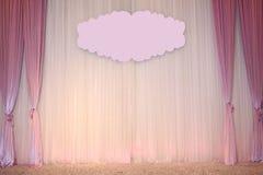 Schöner Hochzeits-Hintergrund Stockfotografie