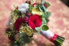 Schöner Hochzeitsblumenstrauß lizenzfreie stockfotografie