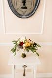 Schöner Hochzeitsblumenstrauß Lizenzfreies Stockfoto