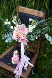 Schöner Hochzeitsblumenstrauß Stockfotos