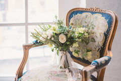 Schöner Hochzeitsblumenstrauß Lizenzfreie Stockbilder
