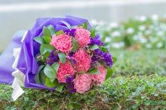 Schöner Hochzeitsblumenstrauß benutzt als Hintergrundillustration Stockbilder
