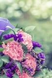 Schöner Hochzeitsblumenstrauß benutzt als Hintergrundillustration Stockfotografie