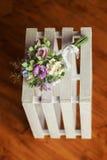 Schöner Hochzeitsblumenstrauß gemacht vom Polymer clay-3 Stockbilder