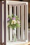 Schöner Hochzeitsblumenstrauß gemacht vom Polymer clay-3 Lizenzfreie Stockbilder