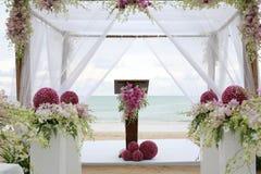 Schöner Hochzeitsbogen Lizenzfreies Stockbild