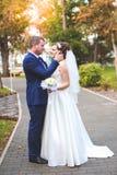 Schöner Hochzeitstag Stockfotos