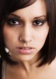 Schöner junger Schauspielerinkopfschuß Lizenzfreies Stockbild