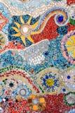 Schöner Kristall deckt Beschaffenheit mit Ziegeln Lizenzfreies Stockbild
