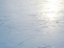 Schöner leerer Eishintergrund stockbild
