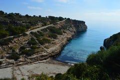 Schöner Majorca-Nebenfluss stockfoto