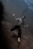Schöner Mann Unterwasser Stockbilder