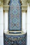 Schöner marokkanischer Pavillion Stockbild