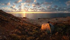 Schöner Meerblick Stockfoto