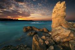 Schöner Meerblick Stockfotos