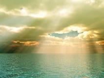 Schöner Meerblick lizenzfreie abbildung