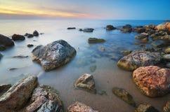 Schöner Meerblick Element der Auslegung Stockfotografie