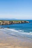 Schöner Meerblick in Spanien Stockfotos
