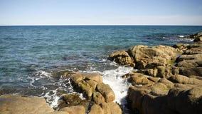 Schöner Meerblick von Sardinien stock footage