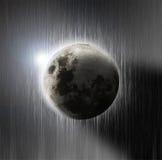 Schöner Mond Lizenzfreies Stockbild