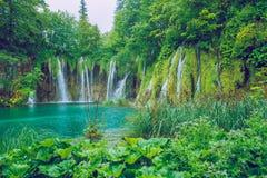Schöner Morgen auf Kroatisch lizenzfreies stockbild