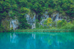Schöner Morgen auf Kroatisch lizenzfreie stockfotografie
