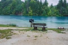 Schöner Morgen auf Kroatisch Reisefoto lizenzfreie stockfotografie