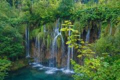 Schöner Morgen auf Kroatisch Reisefoto lizenzfreies stockbild