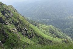 Schöner Naturplatz Ella Sri Lanka stockbilder