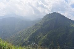Schöner Naturplatz Ella Sri Lanka lizenzfreie stockbilder