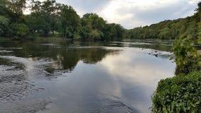 Schöner PA-Nebenfluss Stockbild
